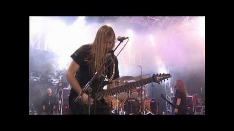 MESHUGGAH Future Breed Machine Live at Download Festival 2005