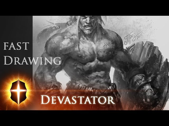 Devastator - Fast Drawing by TAMPLIER 2015