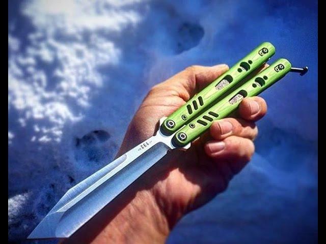 Как я кручу нож бабочку! Balisong Butterfly Knife