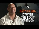 Rappler Q A: Dwayne 'The Rock' Johnson