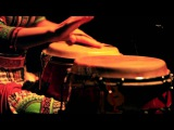 Female congas player - Liron meyuhas  La Gitana project  Negrume da noite