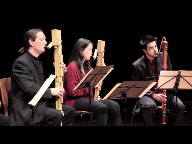 Three Irish traditional - Quinta Essentia Recorder Quartet Paul Leenhouts