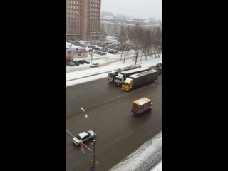 11.11.2015 Забастовка дальнобойщиков (Ижевск)