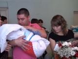 Торжественная выписка новорожденных в с.Кушнаренково