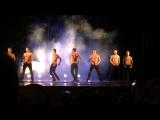 Театр танца Искушение - шоу под дождем