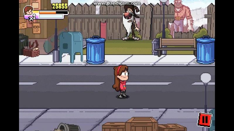 Флэш игра по <<Гравити Фолз(на Английском Gravity Falls),>> часть 4.