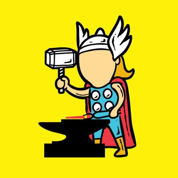 Вот кем подрабатывают супергерои?