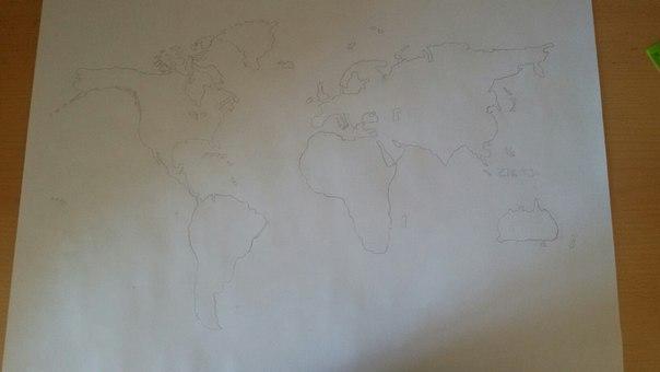 Всем привет географы и географини=) сегодня утром за 15 мин нарисовал эту карту,...