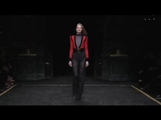 Коллекция одежды Balmain осень-зима 2015⁄2016. Полное видео показа - YouTube