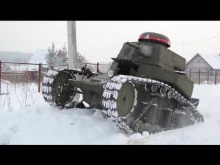 Танк МС - 1 своими руками