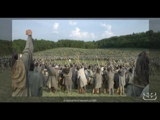 Последнее королевство / The Last Kingdom.1 сезон.Видео о создании спецэффектов (2015) [HD]
