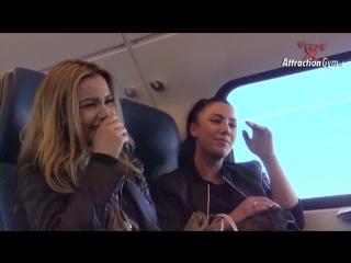 PORN PRANK IN DE TREIN - AttractionGym TV