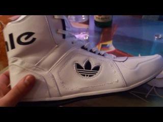 Превращаем китайские кроссовки в фирменные кеды Adidas!