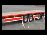 Longer Semi Trailer - Only Longer Trailer in UK undertaking LEGAL road trials under VSO