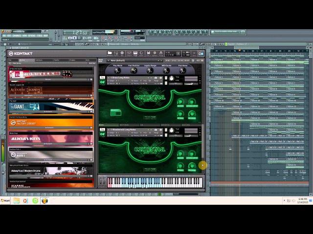 Interstellar Main Theme OST Orchestra Rock Metal Instrumental Cover Remix FL Studio
