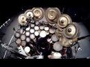 Eduardo Kusdra Terry Bozzio - Face to face (John McLaughlin's Shakti -