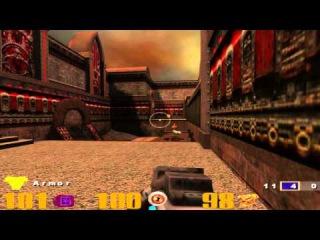 Quake 3 arena (UHD) 4k (2160p) #1 рыцарь против Фобуса