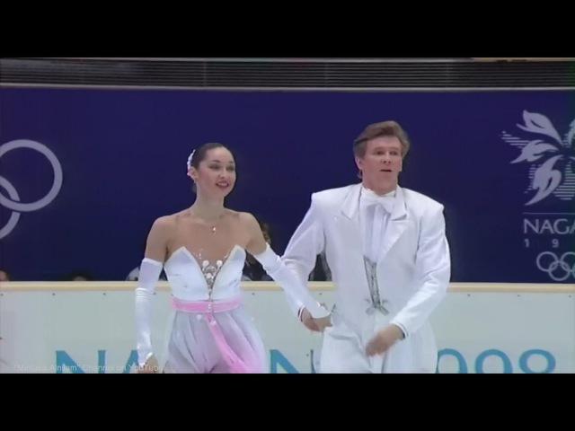 [HD] Krylova Ovsyannikov - 1998 Nagano Olympics - CD Golden Waltz