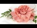 Хризантема из колбасы Розочки из колбасы Украшения тарелки