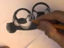 Как рисовать металл карандашом. Уроки рисования.