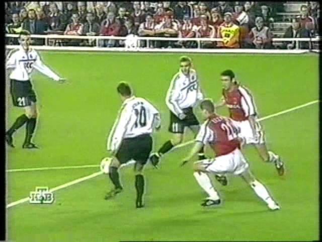 ЛЧ 2000/2001. Арсенал Лондон - Шахтёр Донецк 3-2 (20.09.2000)