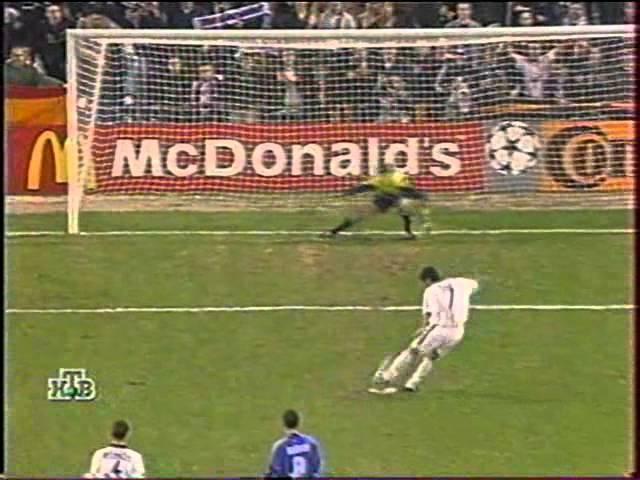 Реал (Мадрид) - Динамо (Киев) 22. ЛЧ-199900 (обзор).
