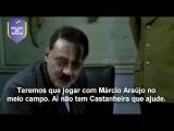 Hitler descobre que Flamengo contratou Márcio Araújo