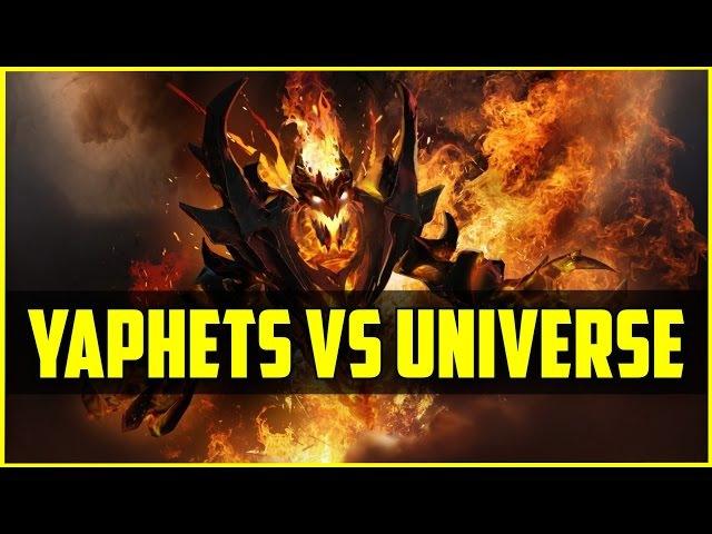 Видео: Dota 2 win... Yaphets Vs Dendi