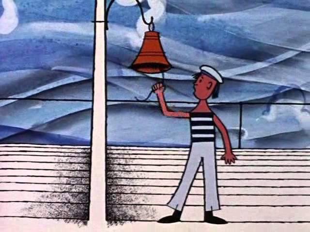 Балерина на корабле 1969