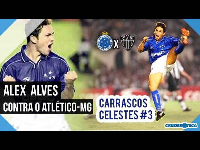 ALEX ALVES no Clássico Cruzeiro x Atlético-mg | Carrascos Celestes