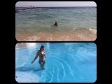 """Виктория Райкина on Instagram: """"Как приятно,в такую погоду, вспоминать отпуск с любимым!?☀️?море,жди нас!!!мы скоро вернёмся!!! #отпуск #море #вода #солнце #жара #тепло…"""""""