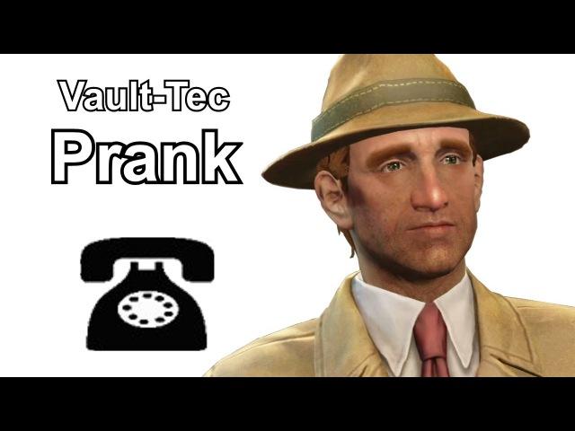Vault-Tec Rep Sells Vaults - Fallout 4 Prank Call