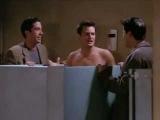 Chandler Bing - In Public toilet Naked