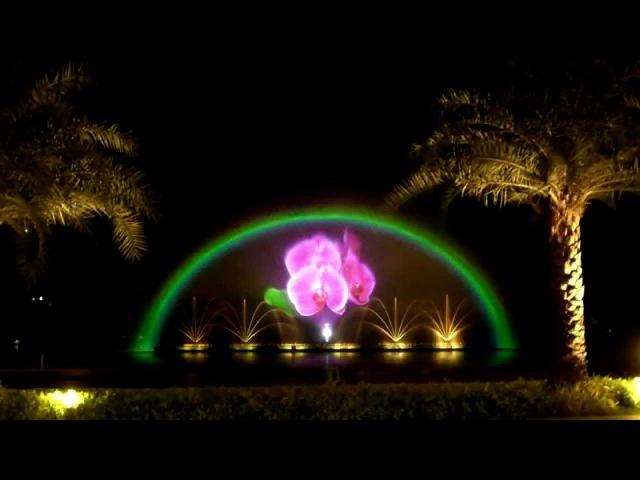 Dancing Fountain in Night Safari Park, Chiang Mai, Thailand เชียงใหม่ไนท์ซาฟารีน้ำพุเต้36