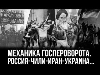Дионис Каптарь. Механика госпероворота. Россия-Чили-Иран-Украина...