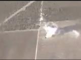 Уничтожение вооружения, техники и матсредств боевиков на укрепленной позиции ИГИЛ в р-не ДОКМАК. Сирия.