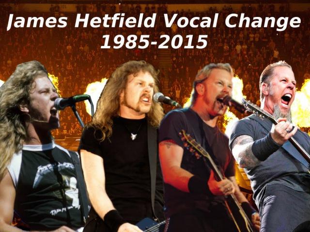 Metallica Fade to Black (James Hetfield) Vocal Change 1985-2015