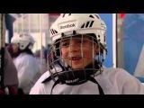 Хоккей это игра!  - Смотрите на заднем плане этого видео!
