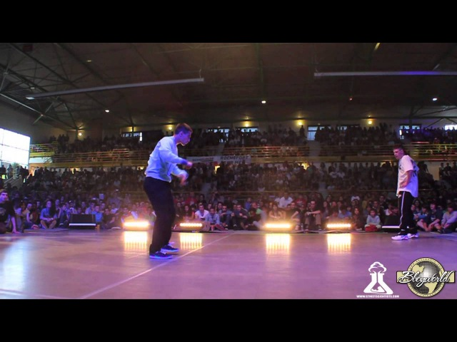PLASTMASS vs RECKLESS LEE (ROCHEFORT BATTLE 2013) WWW.BBOYWORLD.COM