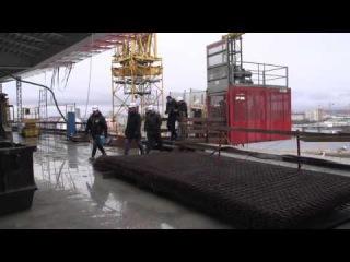 Строительство стадиона на Крестовском острове