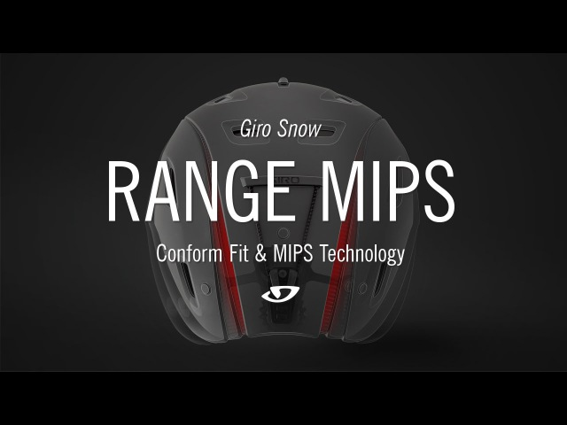 Giro Snow Range MIPS Helmet with Conform Fit MIPS Technology