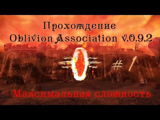Прохождение Oblivion Association v 0 9 2 ч 1 дорога в Имперский город Вилья камень созвездия максима