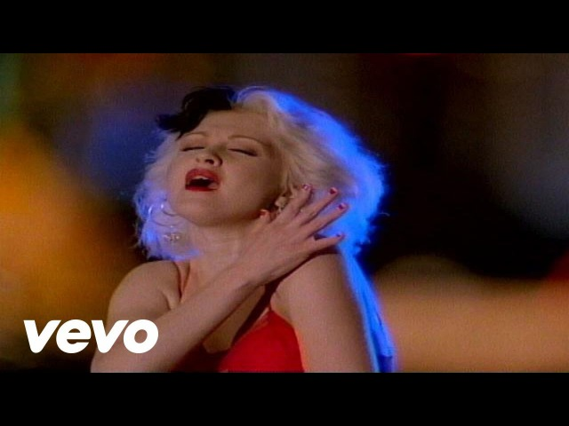 Cyndi Lauper I Drove All Night Video