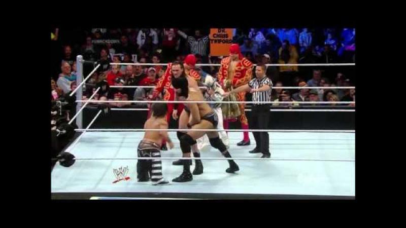 бой карликов WWE