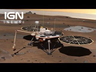 NASA планирует отправить посадочный модуль на понимание своей миссии, чтобы исследовать интерьер Марс в 2018 году.
