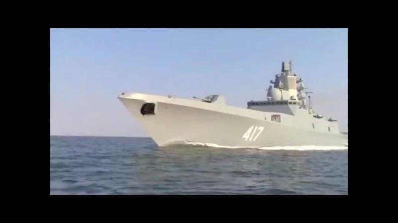 Have a look at Russia Navy Admiral Gorshkov Class Frigate