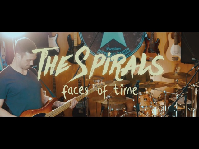 The Spirals - Faces Of Time (live at AngelDust Studio)