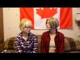 2P!Англия и 2P!Канада - Камень-ножницы-бумага на желание