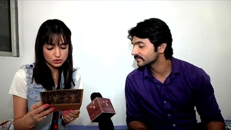 Ashish Sharma And Sanaya Iranis Gift Segment
