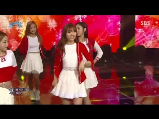 160103 Lovelyz (러블리즈) - For You (그대에게) @ 인기가요 Inkigayo
